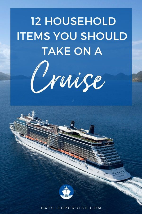 12 Household Items to Take on a Cruise