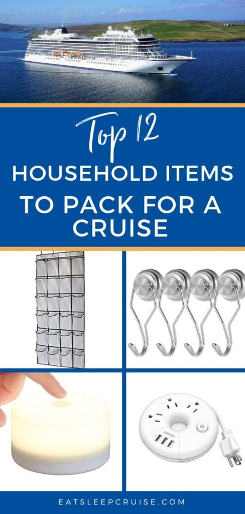 12 Household Items to Pack for a Cruise