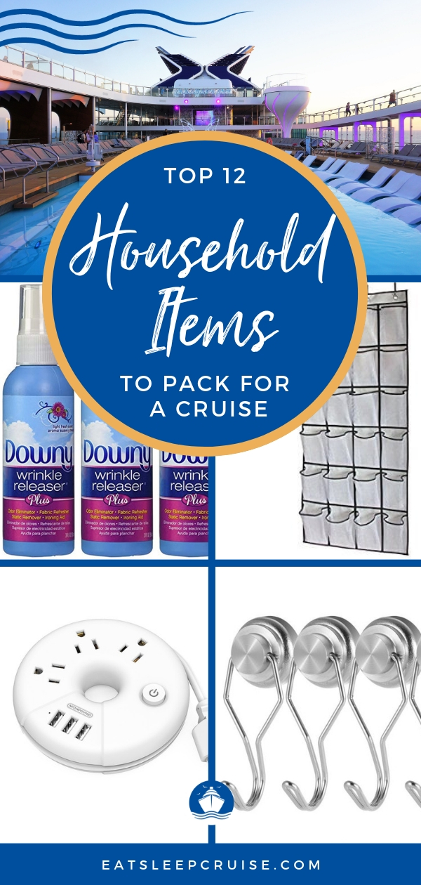 Top 12 Household Items to Pack for a Cruise
