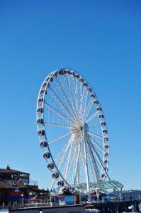 Seattle Great Wheel Things You must see in Seattle