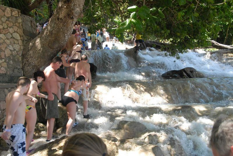 Bobsled Jamaica and Dunn's River Falls