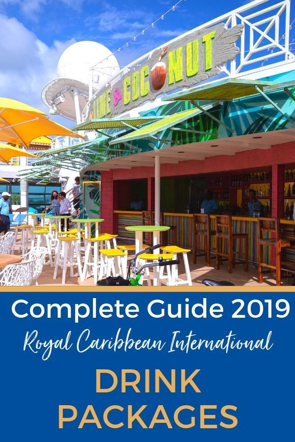 Complete Guide to Royal Caribbean Drink Packages
