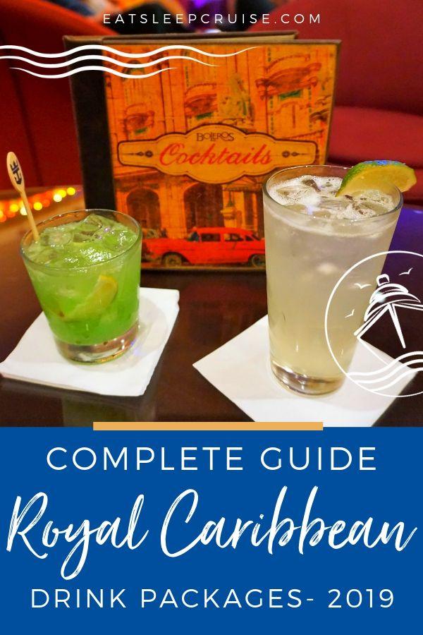 Royal Caribbean Drink Package Guide 2019