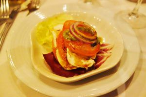 Caprese Salad Enchantment of the Seas Review