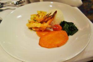 Garlic Shrimp Enchantment of the Seas Review