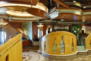 Champagne Bar on Adventure of the Seas