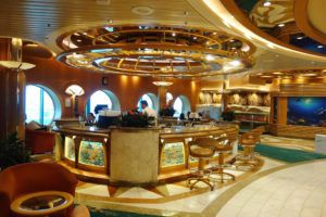 Lobby Bar on Adventure of the Seas