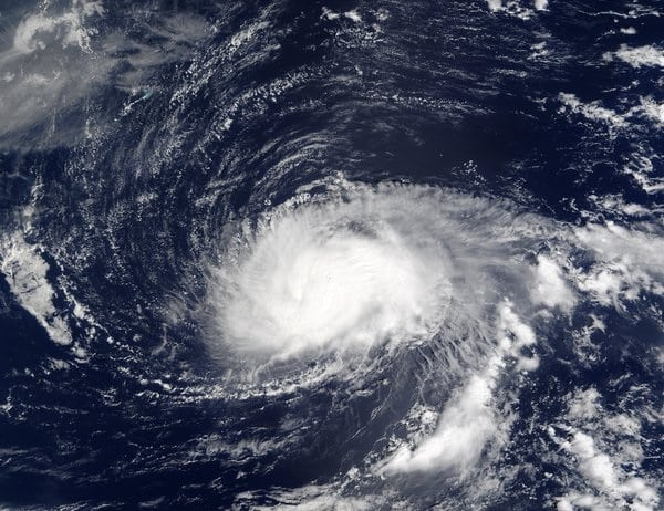 cruising during a hurricane