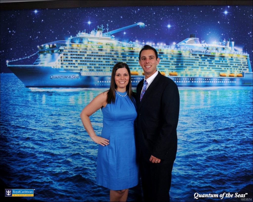 Formal photo on Quantum of the Seas