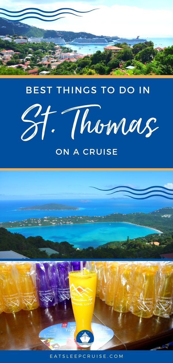 Best Things to do in St. Thomas on a Cruise