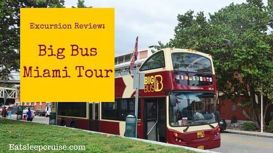 Capturing Miami on a Big Bus Miami Tour
