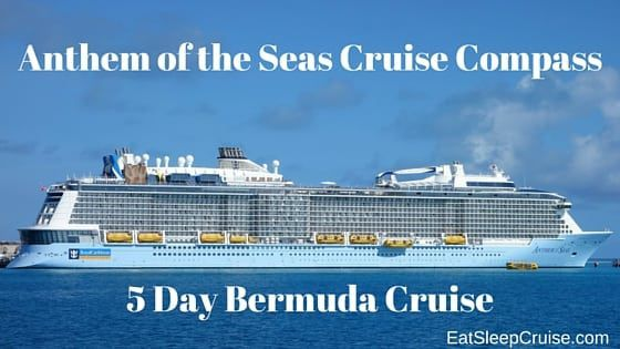 Anthem of the Seas Cruise Compass