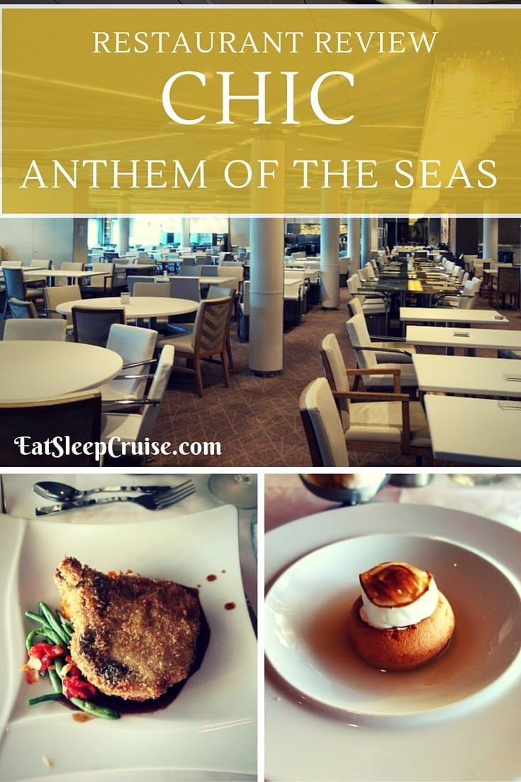 Chic Anthem of the Seas Review