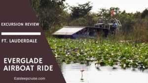Everglade Airboat Ride Excursion Review