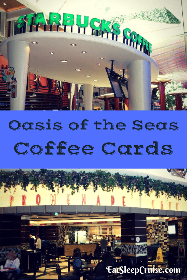 Coffee Cards on Oasis of the Seas