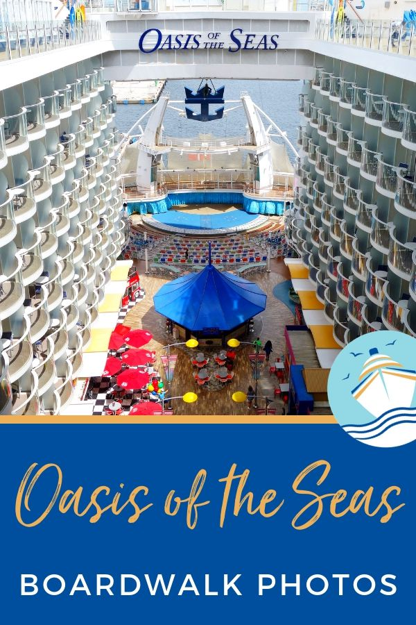 Oasis of the Seas Boardwalk Photos