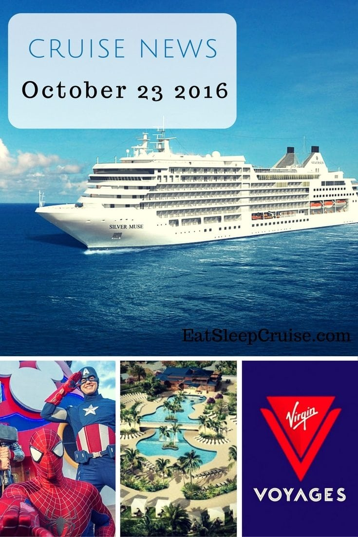 Cruise News October 23 2016