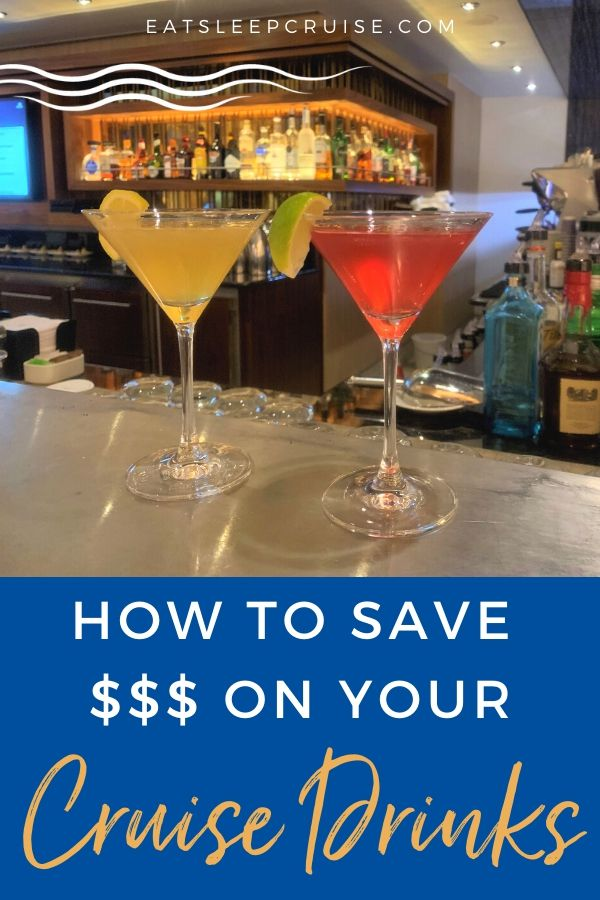 10 Easy ways to save money on cruise drinks