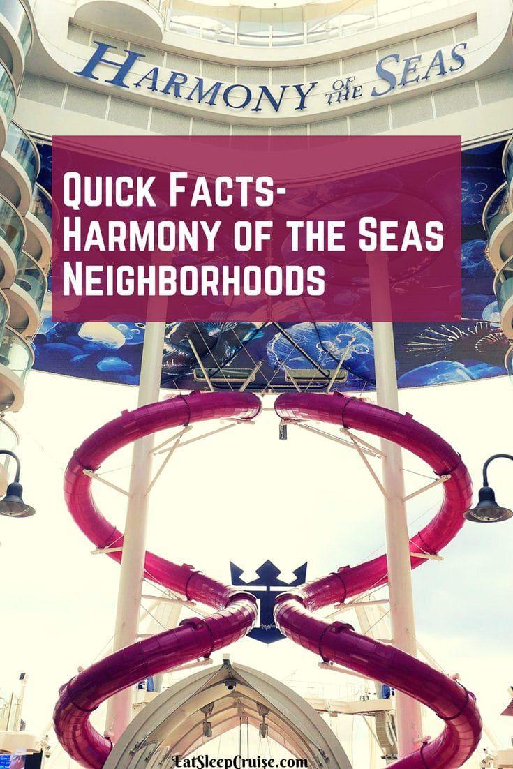 Harmony of the Seas Neighborhoods