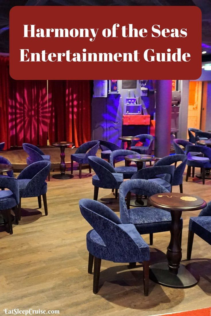 Harmony of the Seas Entertainment Guide