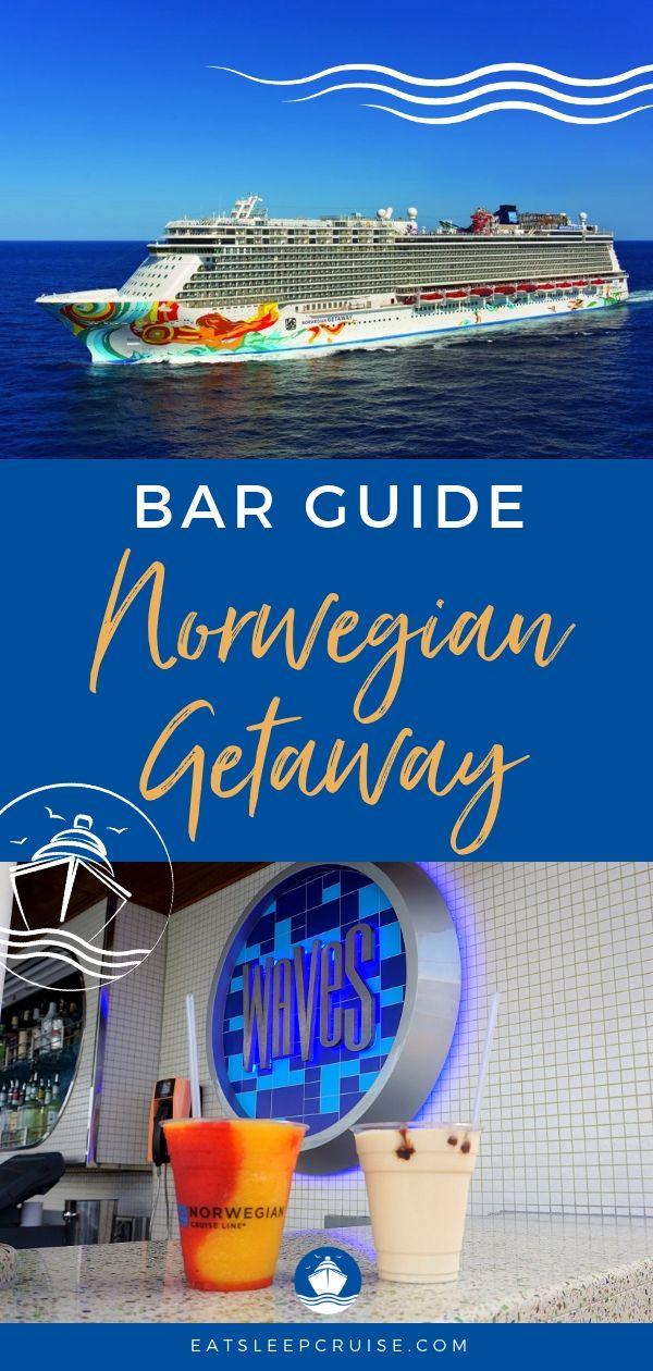Bar Guide Norwegian Getaway