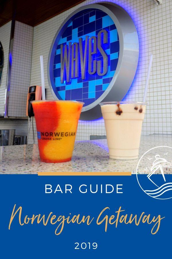 Norwegian Getaway Bar Guide