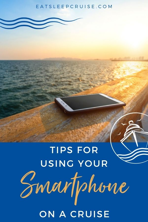 using your smartphone at sea