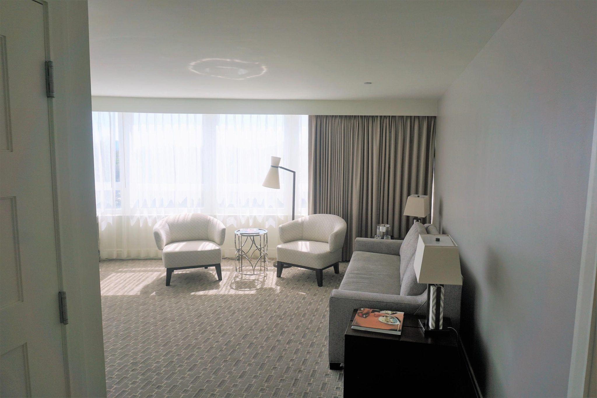 Fontainebleau Sitting Area