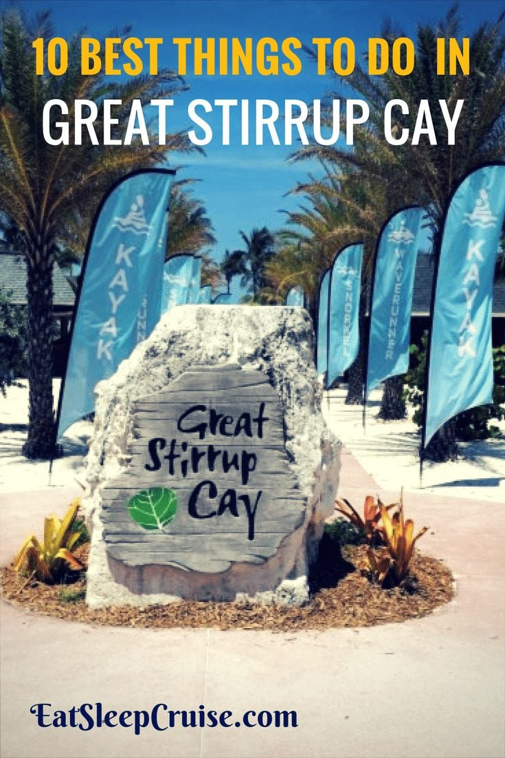 10 Best Things to do in Great Stirrup Cay
