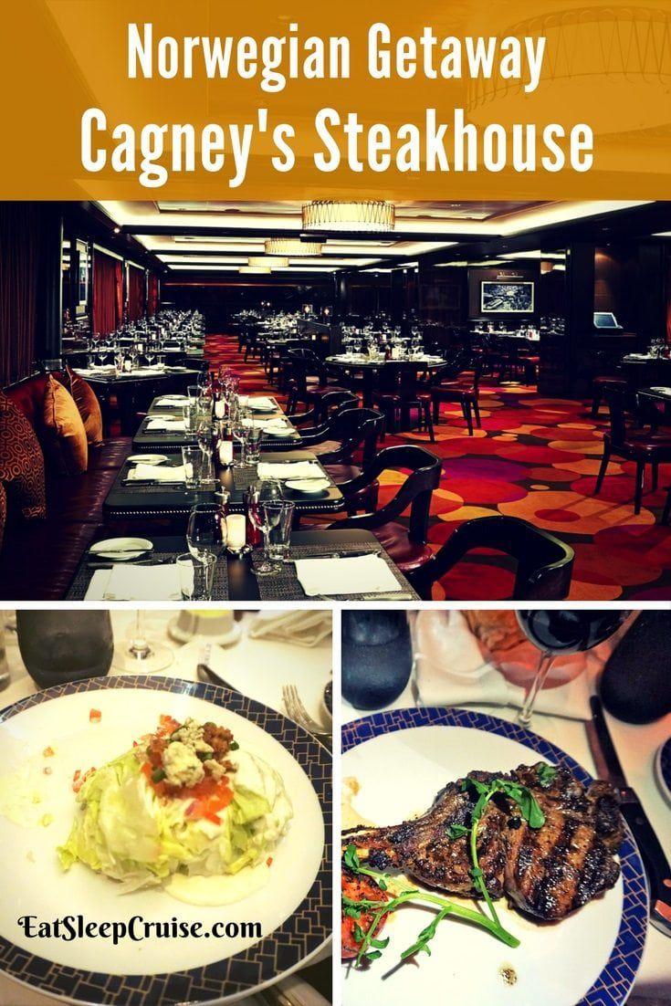 Cagney's Steakhouse on Norwegian Getaway