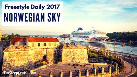 Norwegian Sky Freestyle Daily 4-Day Cuba Cruise