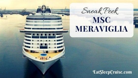 A Sneak Peek Inside MSC Meraviglia