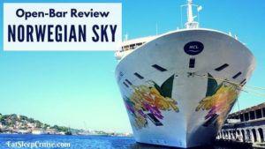 Norwegian Sky Open Bar Review
