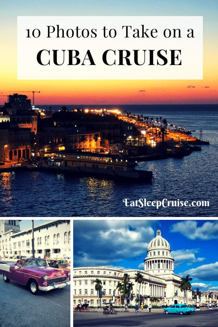 10 Photos to Take on a Cuba Cruise