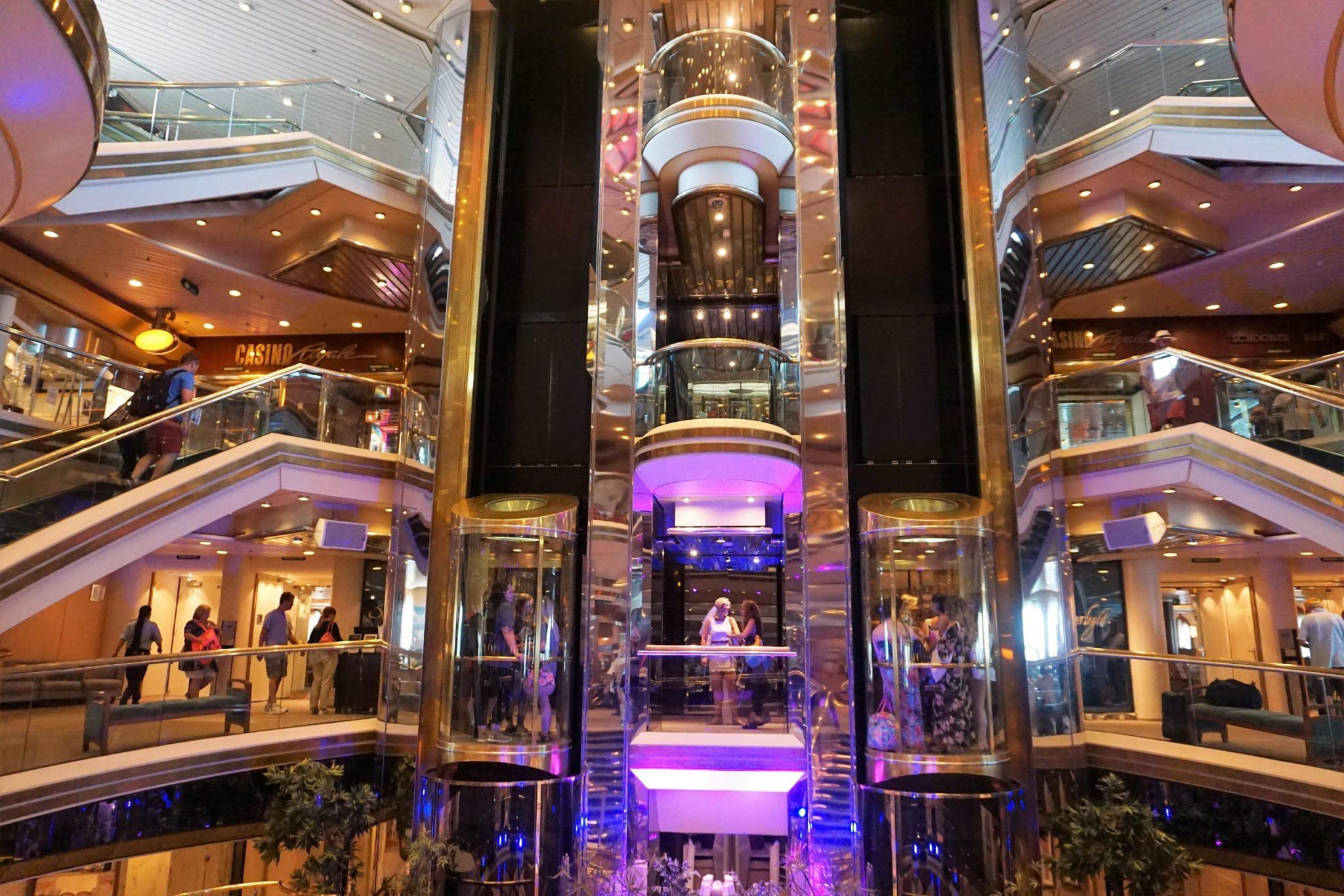 Centrum on Majesty of the Seas