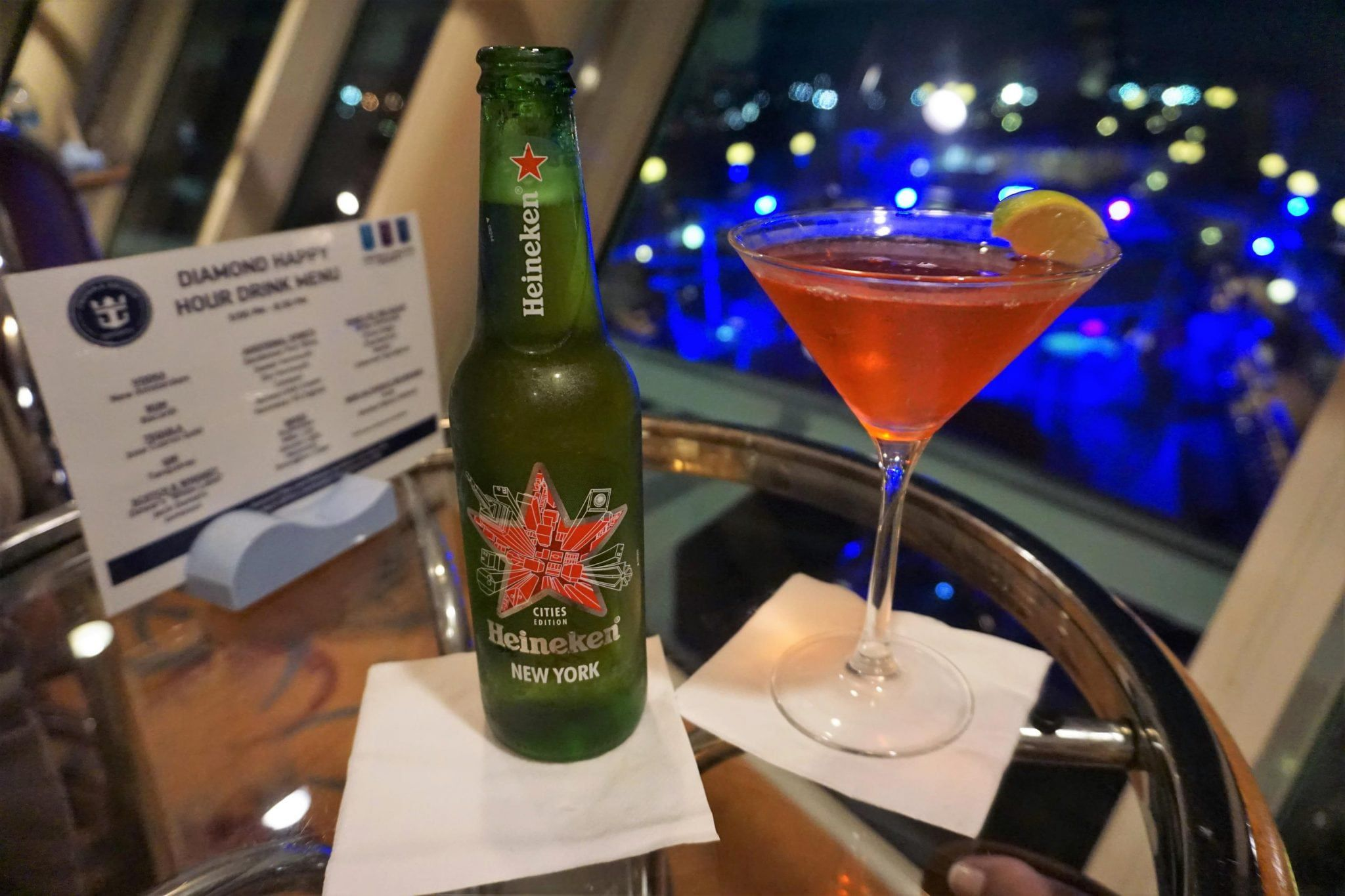 More Diamond Drinks on MAjesty of the Seas