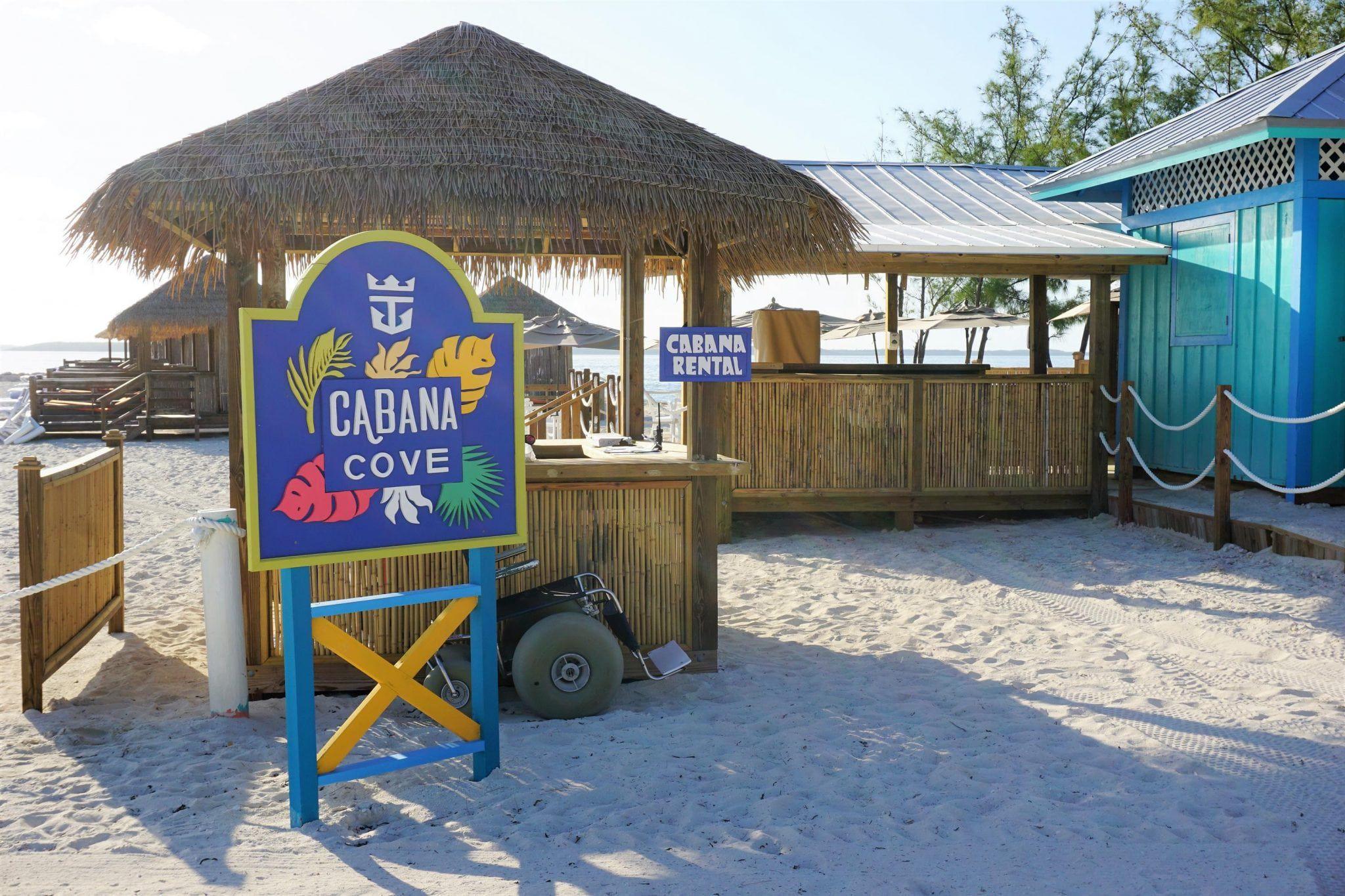 CocoCay, Bahamas Cabanas