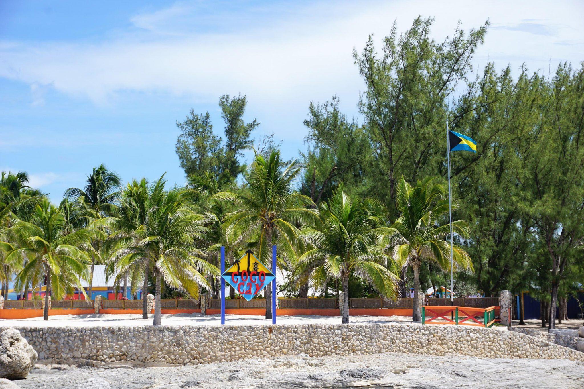 CocoCay, Bahamas Sign