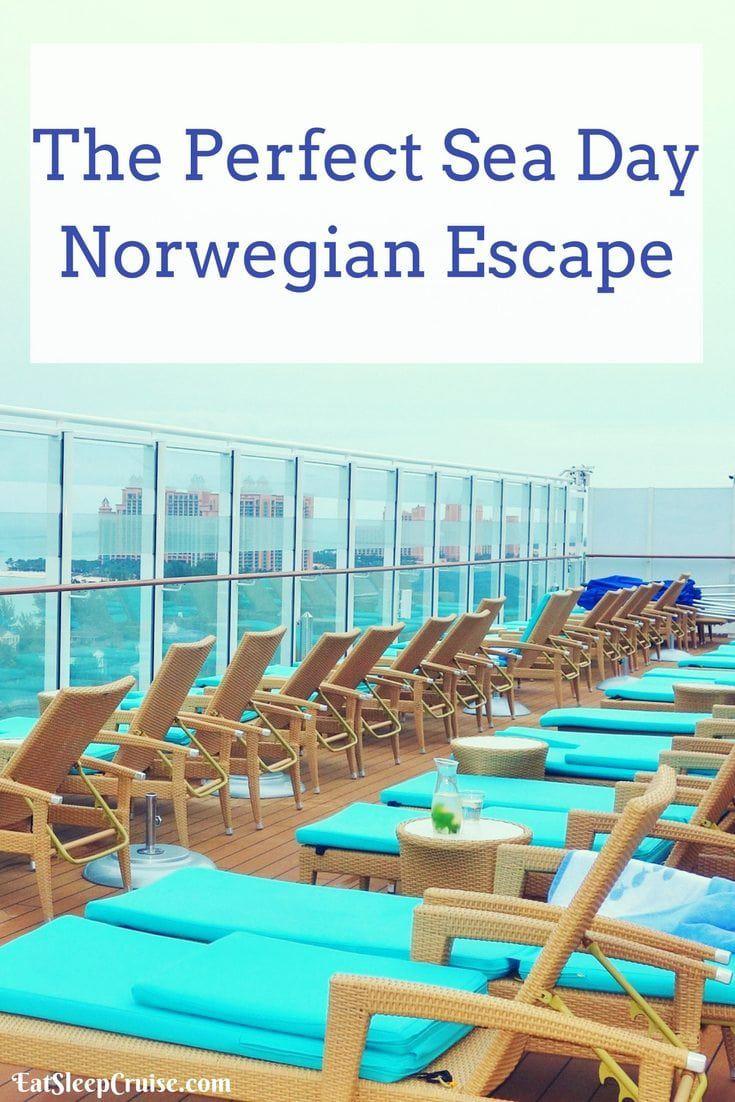 The Perfect Sea Day on Norwegian Escape
