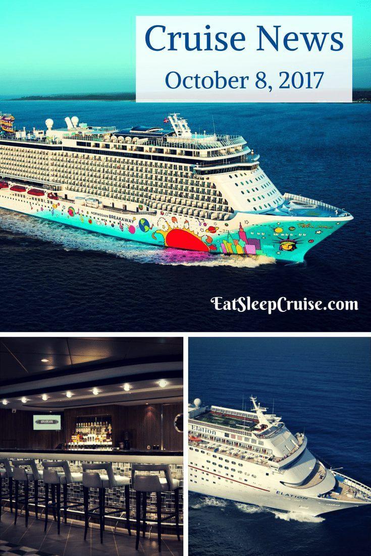 Cruise News October 8, 2017