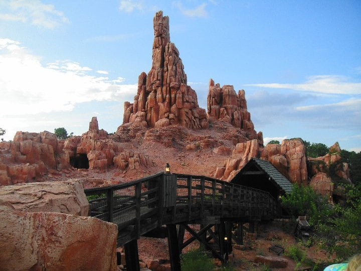 Thunder Mountain at Walt Disney World