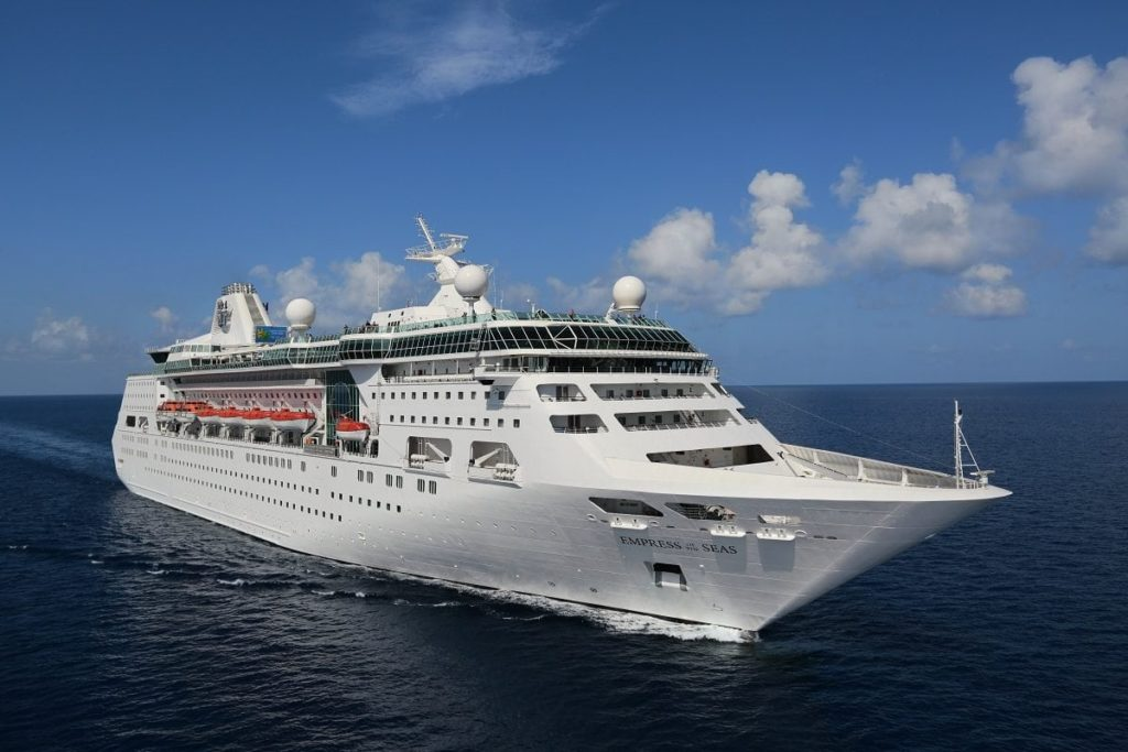 Empress of the Seas - Cruise News December 3, 2017