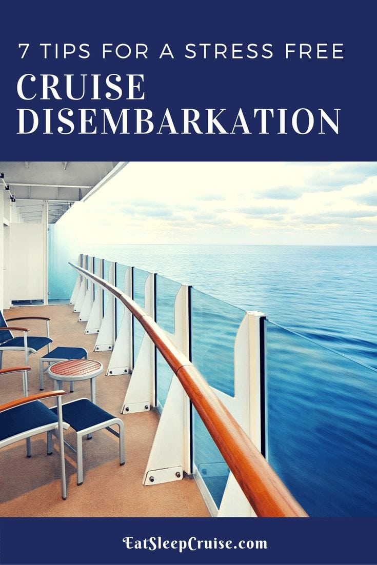 7 Tips for a Stress Free Cruise Disembarkation