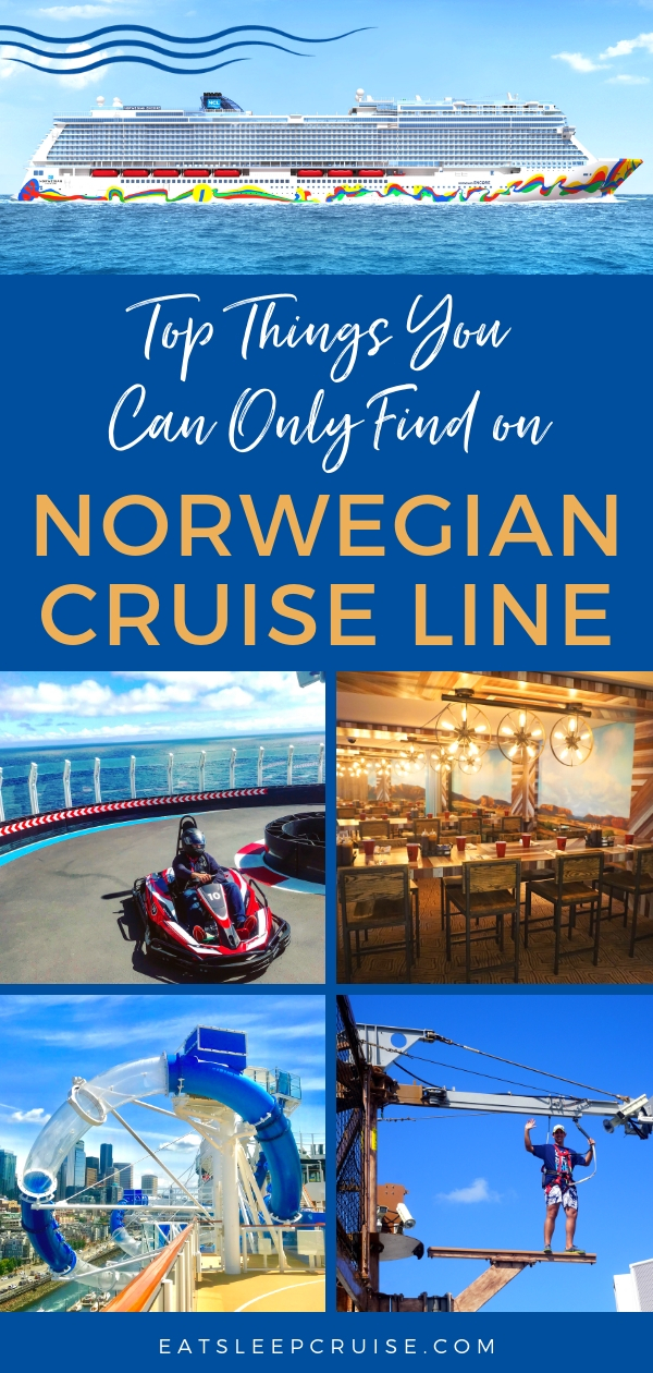 Things You Can Only Find on Norwegian Cruise Line