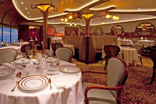 Most Romantic Restaurants at Sea