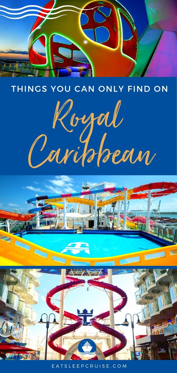 Things You Can Only Find on Royal Caribbean