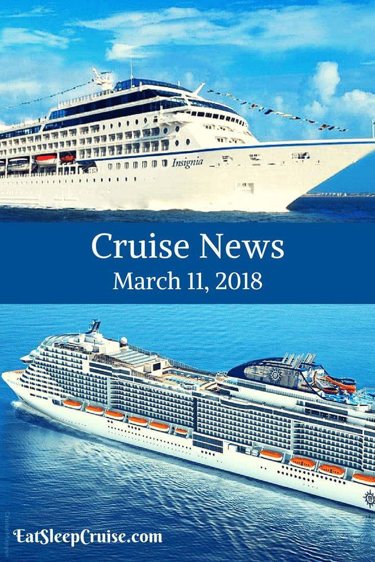 Cruise News March 11, 2018