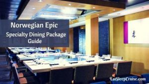 Norwegian Epic Specialty Dining Package