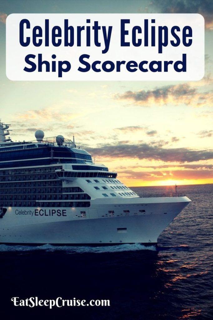 Celebrity Eclipse Ship Scorecard