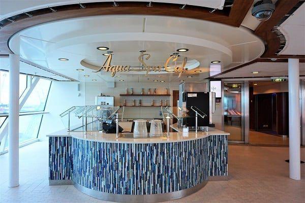 Aqua Spa Cafe Celebrity Eclipse